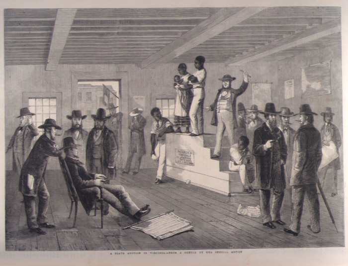 1861 Slave Auction