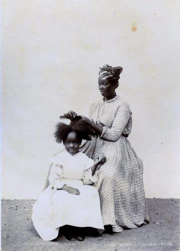 Hairdresser Pointe-a-Pitre, Guadeloupe Via The Caribbean Archives